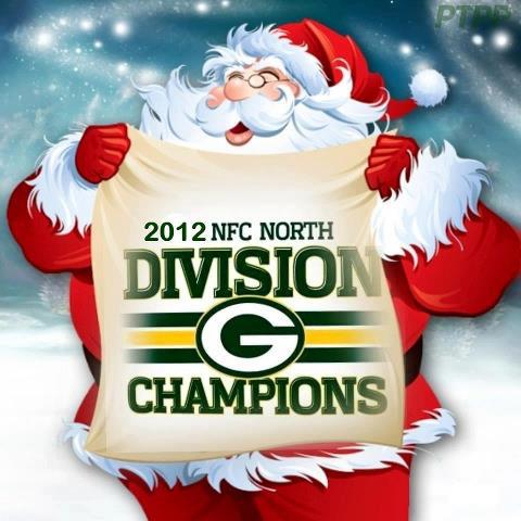 NFC North 2012 Champs
