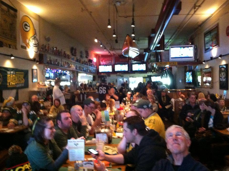 Awesome turnout for the Packers vs Bears last Sunday! Full House with Standing Room Only!