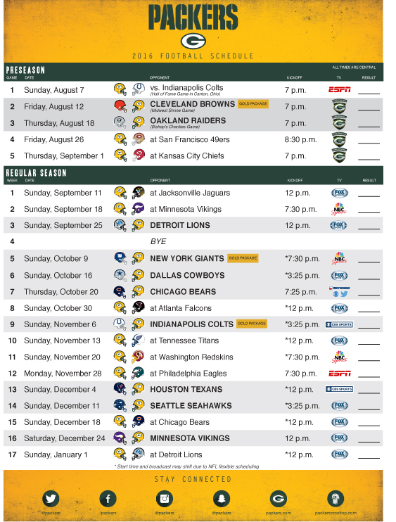 2016-green-bay-packers-schedule